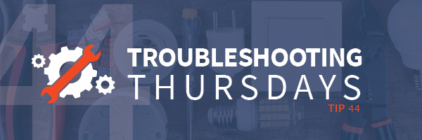 Troubleshooting Thursdays: What to Look for in a Training System—Manufacturing safety (Tip 44)