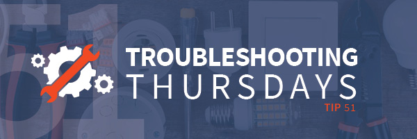 Troubleshooting Thursdays: How to make your maintenance troubleshooting more effective with immersive training (Tip 51)