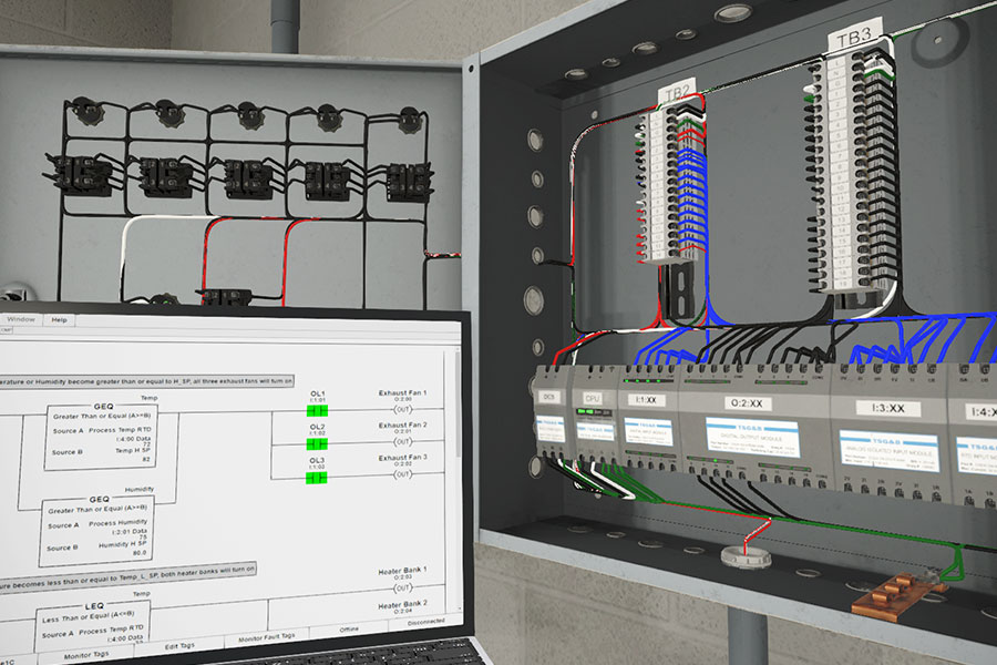 All-new 3D simulation training for troubleshooting industrial sensors