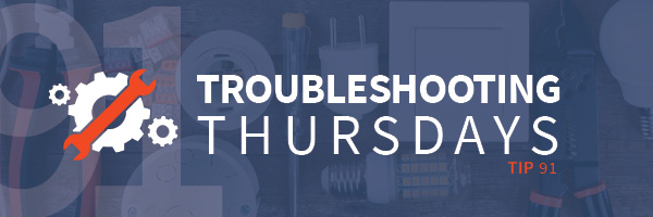 Troubleshooting Thursdays: Why Simulation Training Works Best, Part 1 (Tip 91)
