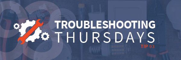 Troubleshooting Thursdays: Annual Troubleshooting Thursdays Roundup for 2019 (Tip 93)