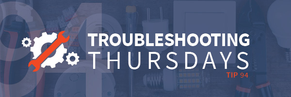 Troubleshooting Thursdays: Top Six Ways to Reduce Manufacturing Downtime (Tip 94)