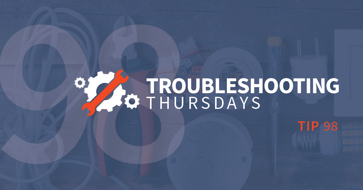 """Troubleshooting Thursdays: Lean Manufacturing, Part 3—Combatting the """"Waste of Waiting"""" (Tip 98)"""