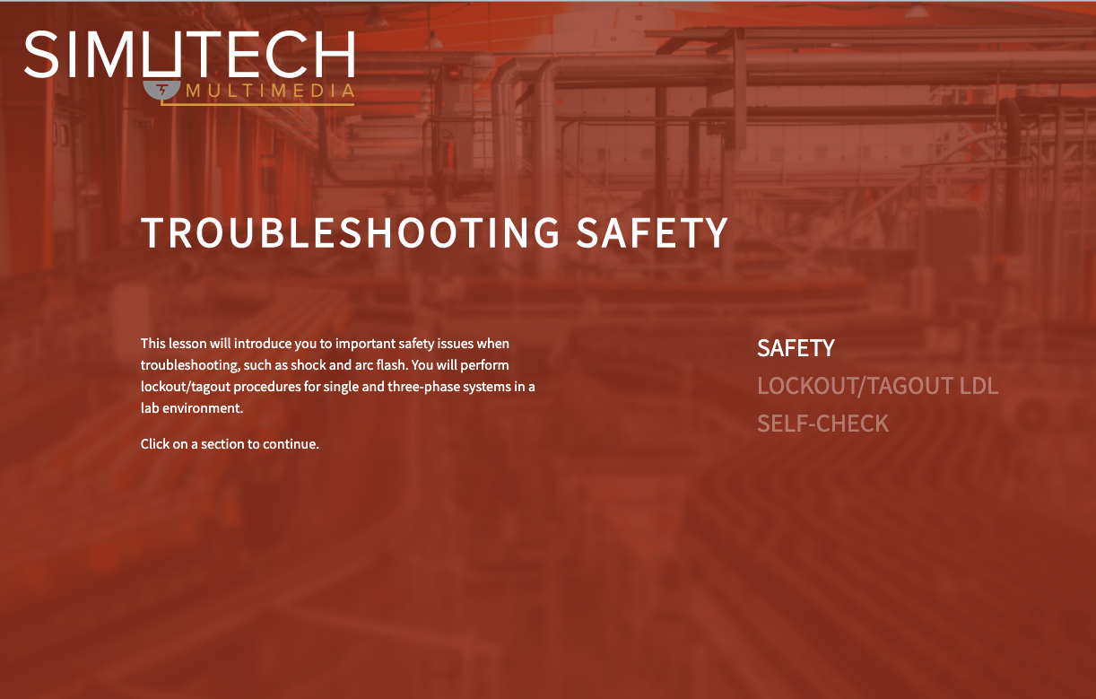 Safety First: An Overview of The Simutech Electrical Safety Training Module