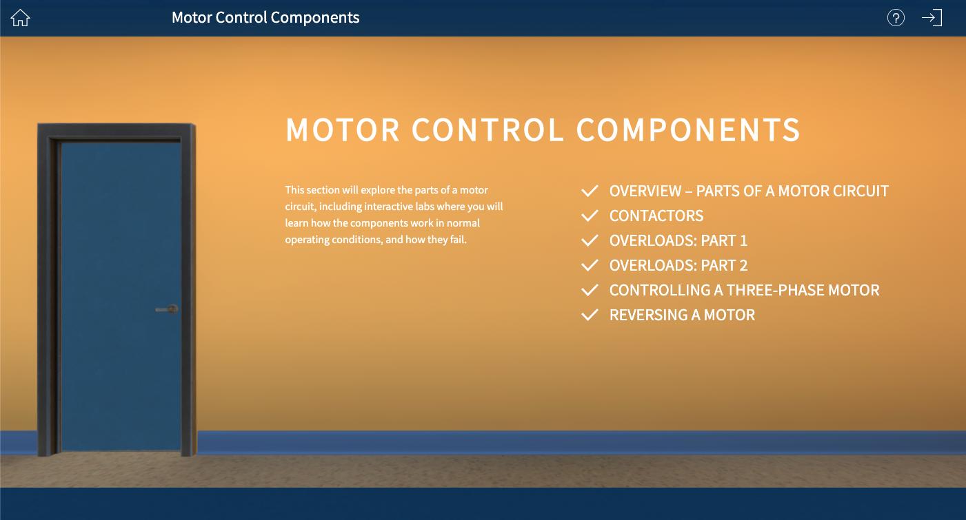 Simutech Motor Control Components - Hallway