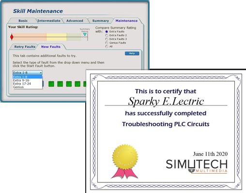 Troubleshooting PLC Circuits (TPLC) | Simutech Multimedia