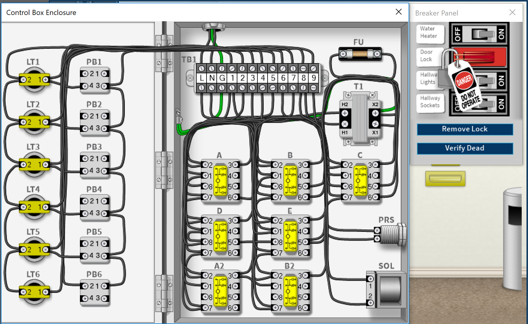 Troubleshooting Electric Motor Control Circuits Wiring Simulation To Do Electrical Of Circuit Tcc Simutech Multimedia