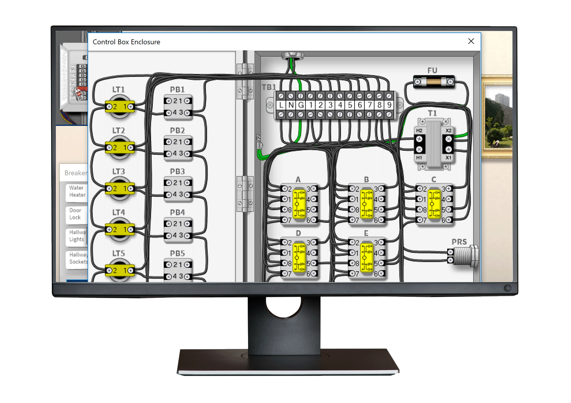 Industrial Electrical Troubleshooting Training Simutech Multimedia Control Circuits