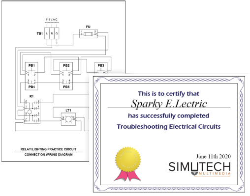 Troubleshooting Electrical Circuits (TEC) | Simutech Multimedia
