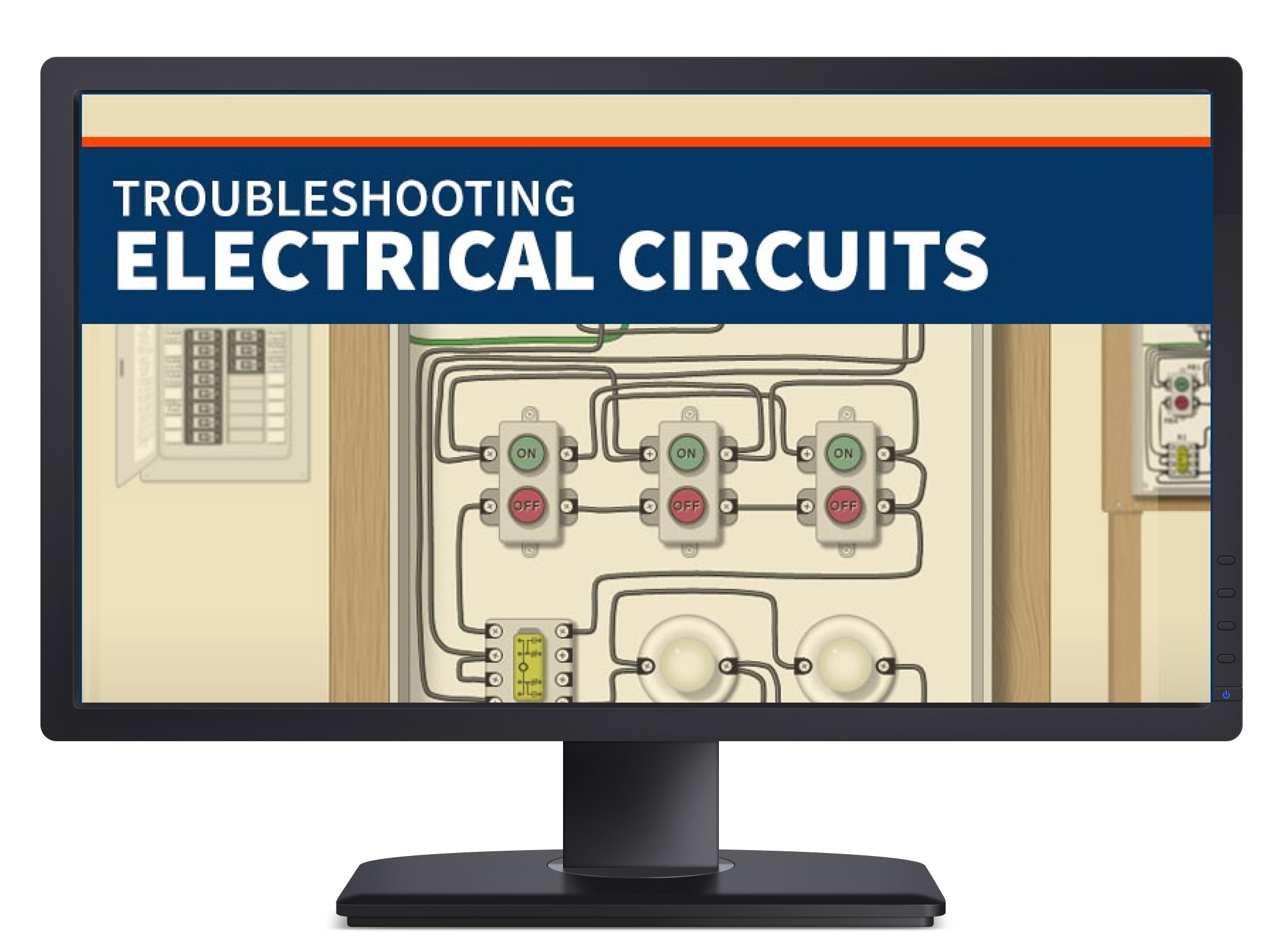 Troubleshooting Electrical Circuits Tec Simutech Multimedia To Do Of Motor Control Circuit Designed For