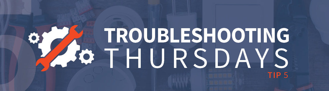 Troubleshooting Thursdays: General troubleshooting techniques (Tip 5)