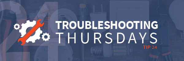 Troubleshooting Thursdays: Troubleshooting your plant reliability for manufacturing executives—part 2 (Tip 24)