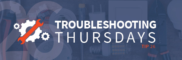 Troubleshooting Thursdays | Troubleshooting your technical training (Tip 26)