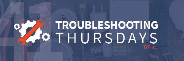 Troubleshooting Thursdays: Annual Troubleshooting Thursdays roundup for 2018 (Tip 41)