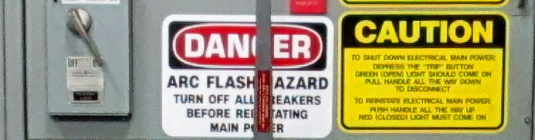 Troubleshooting Safety: Flash Hazards