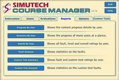 Simutech Course Manager